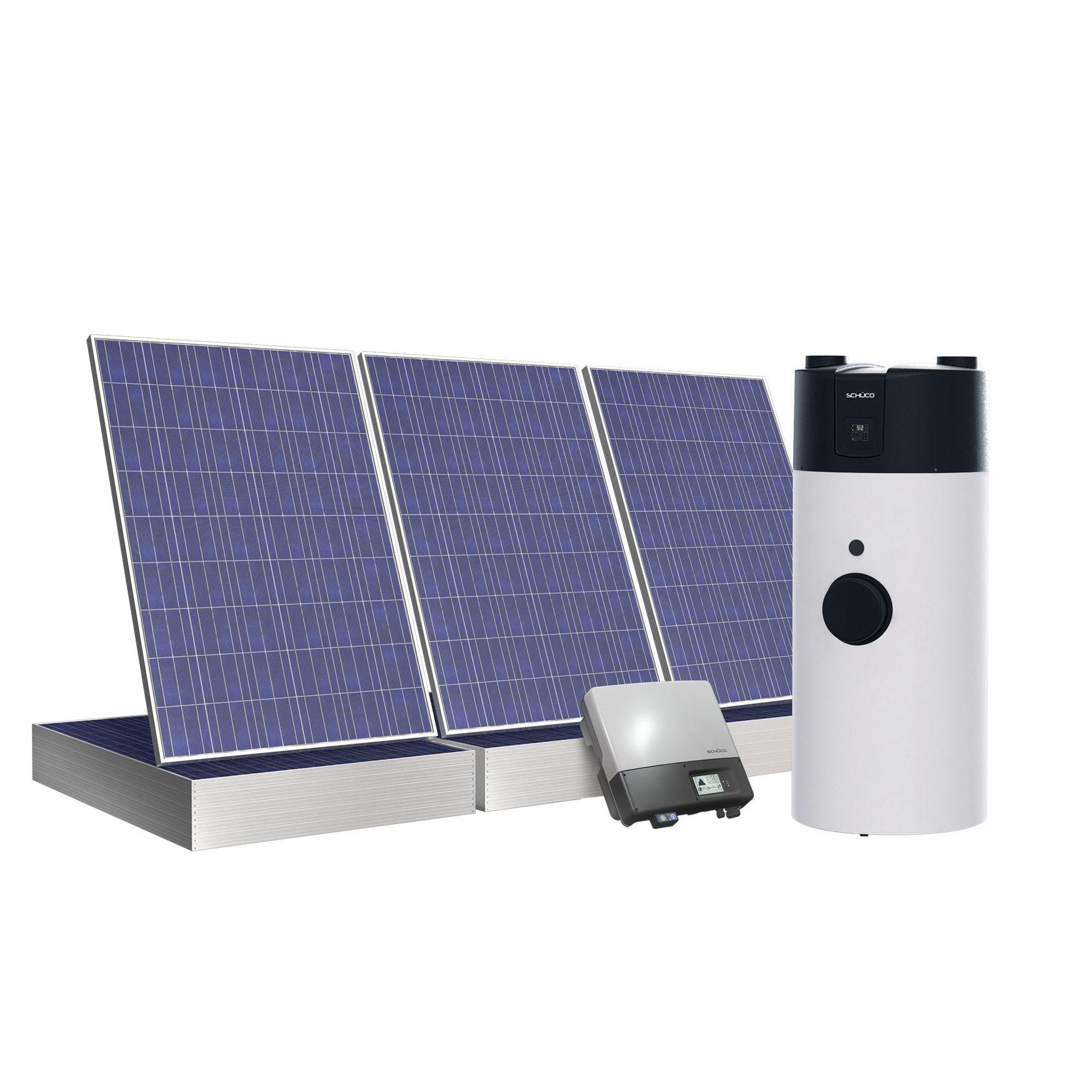 Sistema Schüco che integra pompa di calore e impianto fotovoltaico ...