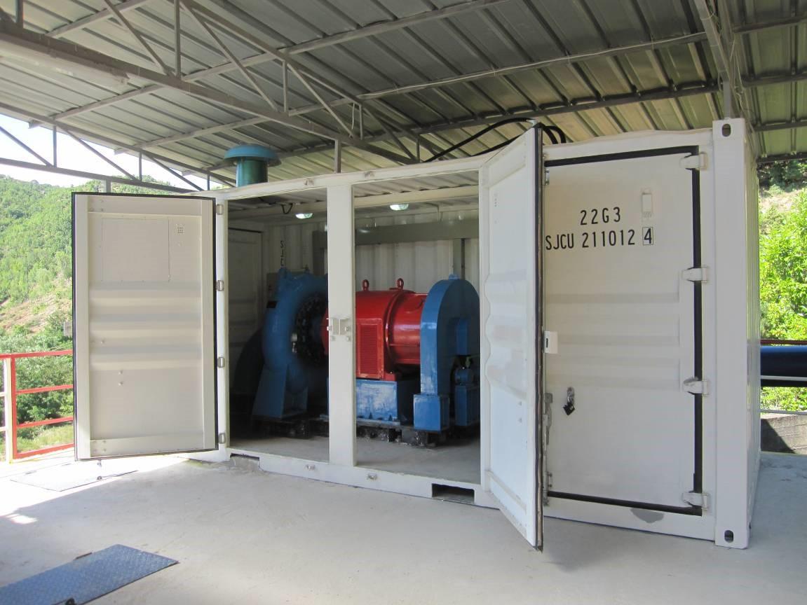 watergenpower in europa la prima centrale mini idroelettrica a misura di container. Black Bedroom Furniture Sets. Home Design Ideas