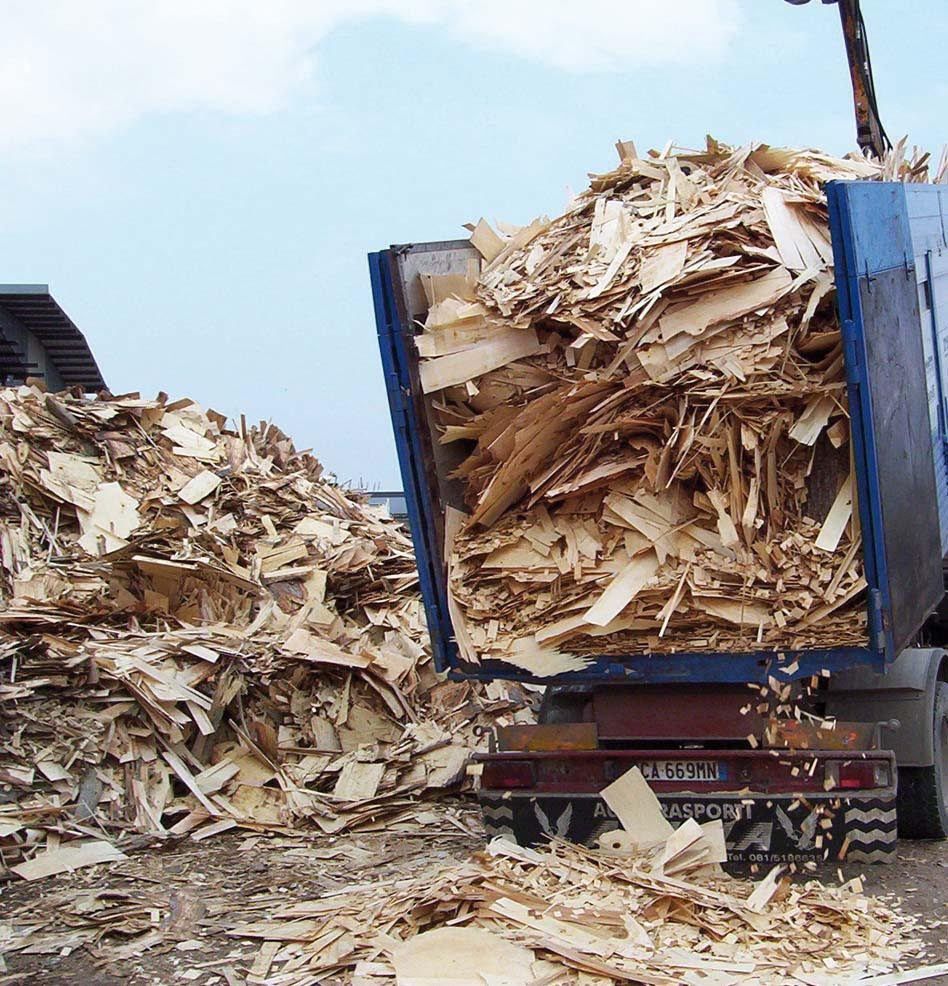 Legno cresce il recupero di imballaggi energia plus for Italia legno energia
