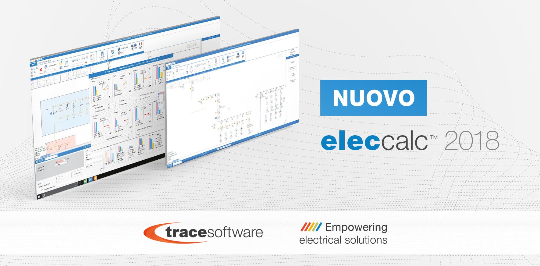 Schemi Elettrici Software : Elec calc il software cae per il calcolo elettrico energia