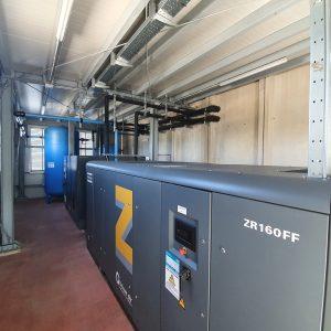 SIAM e Atlas Copco - Compressore ZR160FF