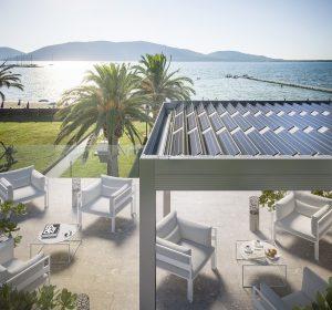 gibus e-twist pergole pannelli solari fotovoltaico