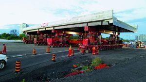 Mammoet sovrappasso autostradale Ottawa Bridge